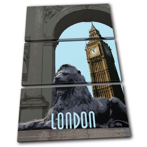 London City Big Ben Landmarks - 13-6082(00B)-TR32-PO